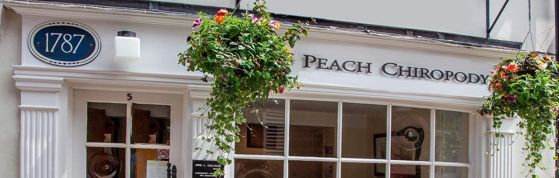 Peach Chiropody Exterior